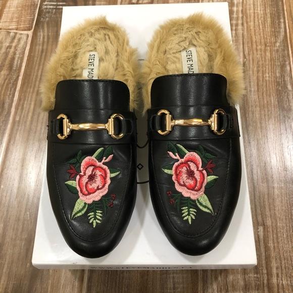 Steve Madden Shoes - Steve Madden Faux Fur Loafers